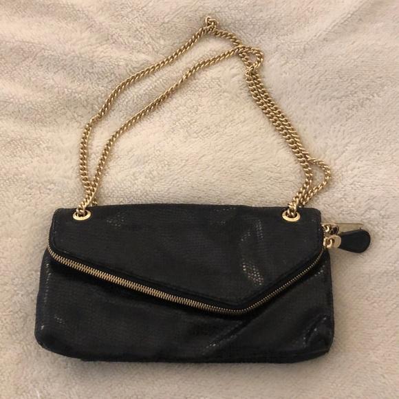 Henri Bendel black purse